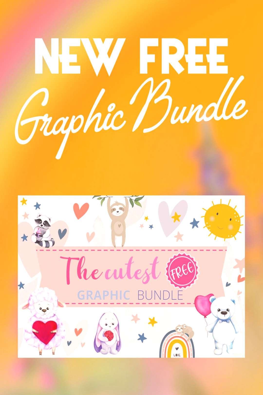 ? The Cutest Free Graphic Bundle ? The Cutest Free Graphic Bundle This bundle includes 16 Pre