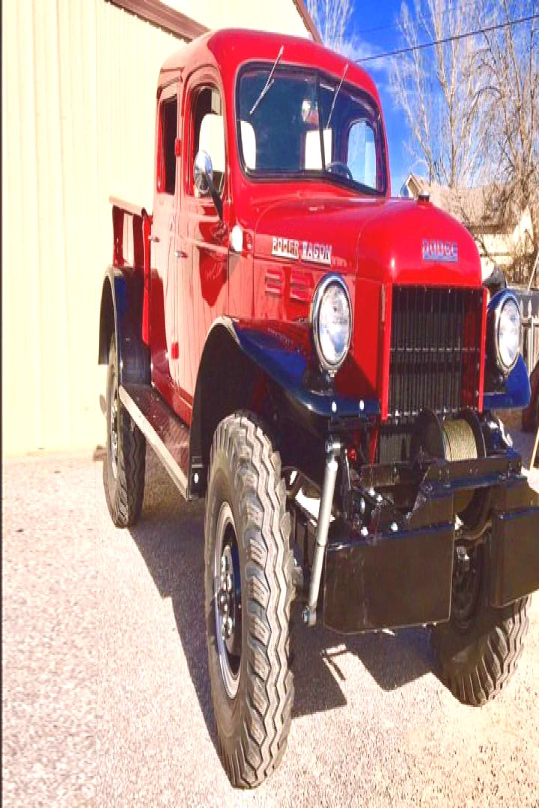 1954 DODGE POWER WAGON CREW-CAB PICKUP