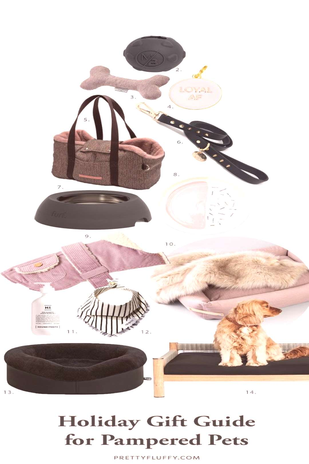 2019 Holiday Gift Guide for Pampered Pets - Pretty Fluffy The ultimate holiday gift guide for pampe