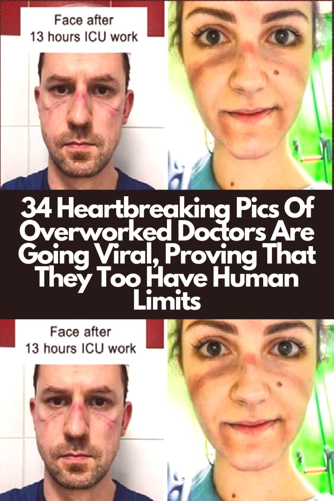 34 Heartbreaking Pics Of Overworked Doctors Are Going Viral, Proving That They Too Have Human Limit