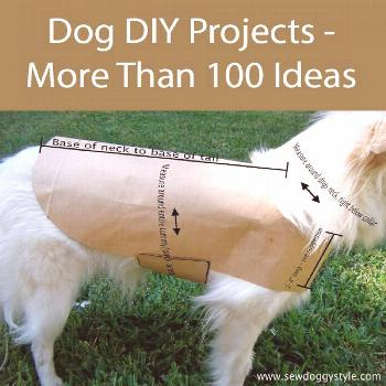 100 Great Dog DIY Projects to make