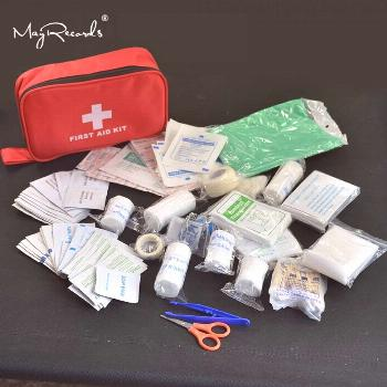 180pcs/pack Safe Travel First Aid Kit Camping Hiking Medical Emergency Kit Treatment Pack Set Outdo
