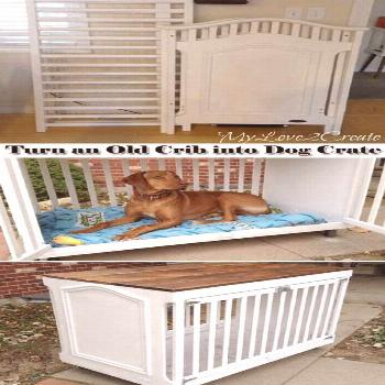 24 Ideas For Small Crate Ideas Dog Kennels