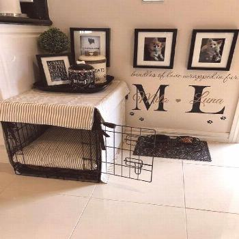 43+ this diy dog crate furniture piece will transform your living room 25