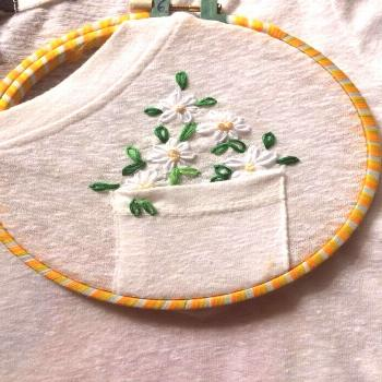 50 Easy DIY Embroidery Shirt Designs You Can Do By Hand - The Thrifty Kiwi        50 dessins de che