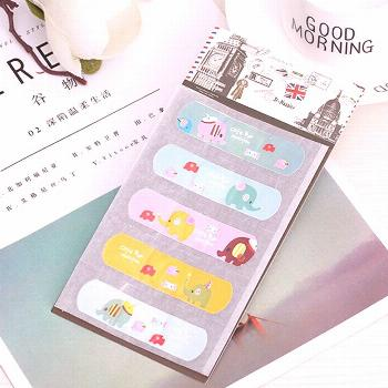 5PCS/Set Cute Waterproof PVC Band Aid Bandage Stickers Baby Kids Care First Band Aid Travel Emergen