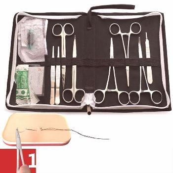 8/12/15/20pcs/set 14cm Surgical suture tools, operation training instrument tool kit for Medical/sc