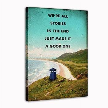 AIXING Dr Who Tardis movie art Canvas Wall Art Print Poster