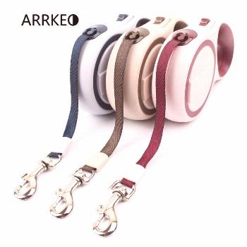 ARRKEO Nylon Best Retractable Dog Leash Leads for Puppy Dog Collar Cat Pet Supplies Dog Accessories