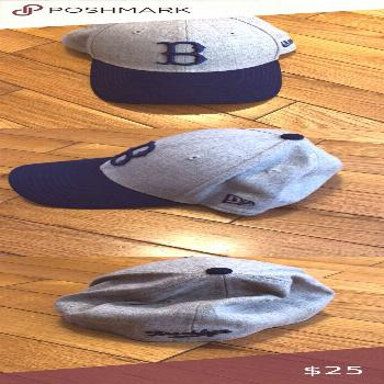 Brooklyn Dodgers baseball hat Brooklyn Dodgers Cooperstown Collection New Era baseball hat - small