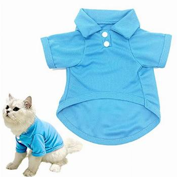 CAISANG Dog Shirts Puppy Clothes for Small Dogs Boy, Pet