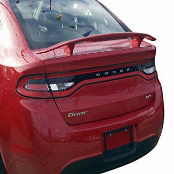 Custom Spoiler for the Dodge Dart Painted in the Factory