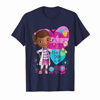 Disney Doc McStuffins the dog is in T-shirt