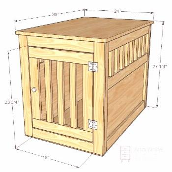 DIY Dog Crate Plans: 7 Plans For Your Pup's Custom Kennel