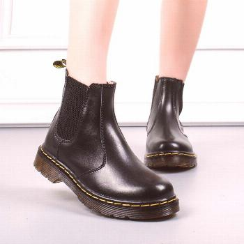 Doc Martins DHL Drop Shipping British Vintage Classic Genuine Martin Boots male Thick Heel Motorcyc