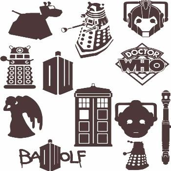 Doctor Who Collection Digital Item Only Clipart digital | Etsy
