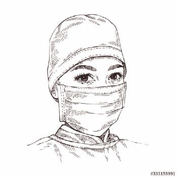 Doctors With Mask Drawing _ Doctors Mask Drawing doctors with mask drawing \ doctors mask drawing _