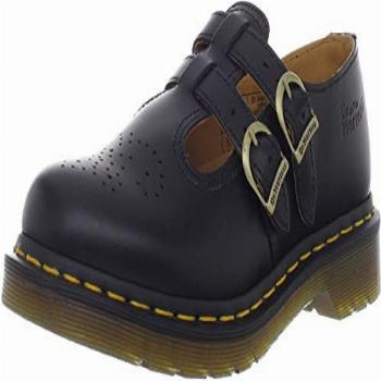 Dr Martens Women's 8065 Mary Jane Buckle Leather Shoe