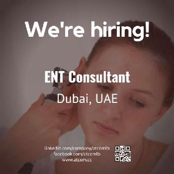 Dubai Jobs | ENT Consultant  Check out our advert link: