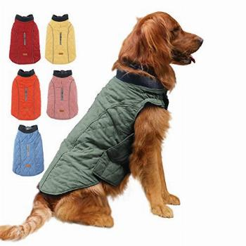 EMUST Dog Coat for Winter, Windproof Dog Jackets for Cold