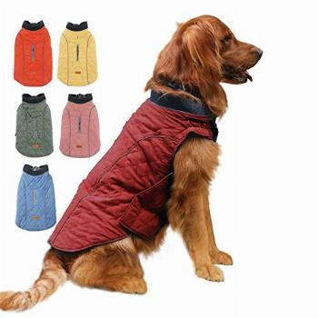EMUST Winter Dog Coats, Dog Apparel for Cold Weather,