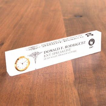 ENT doctors | Otolaryngologists Personalized Desk Name Plate Affiliate