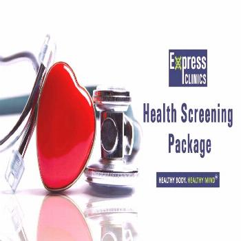 Express Clinics offers the best Health Screening Package at low cost.