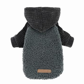 Fitwarm Velvet Thermal Dog Coat Puppy Winter Clothes Pet