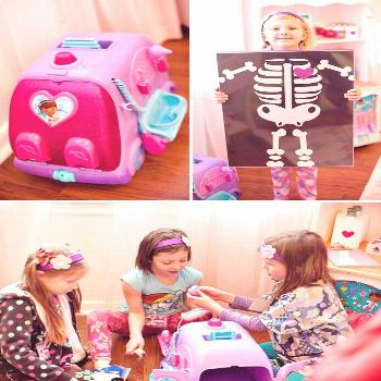 Glitzy & Adorable Doc McStuffins Birthday Party // Hostess with the Mostess®