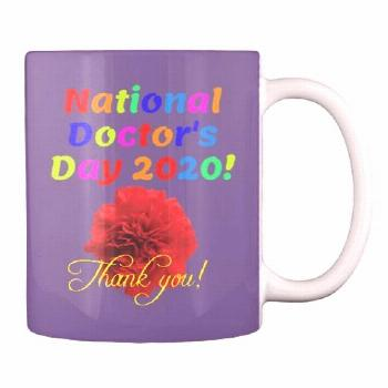 Happy Doctors Day and thank you! Happy Doctors Day and thank you! Mug – $12.99 USD Shipping costs