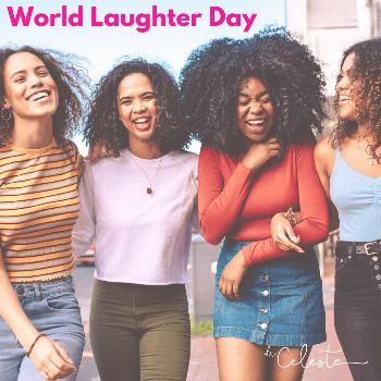 Happy World Laughter Day! Tell a joke. Share a limerick. Make someone smile.  How are you celebrati