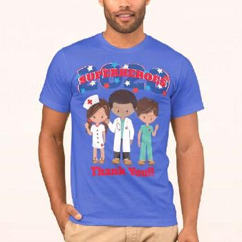 Healthcare Heroes 2020 | Thank You T-Shirt We are grateful for the strength and courage of Doctors