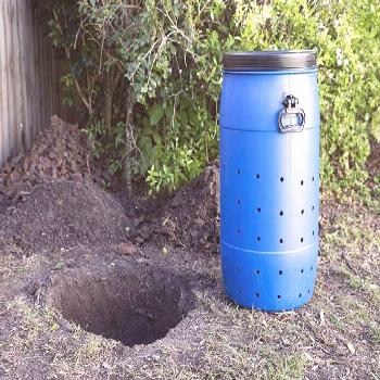 How To Make A DIY Dog Poo Compost - Yard projects -