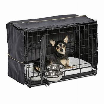 iCrate Dog Crate Starter Kit | 22-Inch Dog Crate Kit Ideal