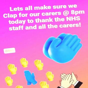 Lets not forgot to clap at 8pm today and every Thursday - /HcPGroup1