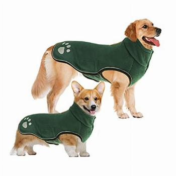 LETSQK Winter Dog Jacket, Winter Coats for Dogs, Reflective