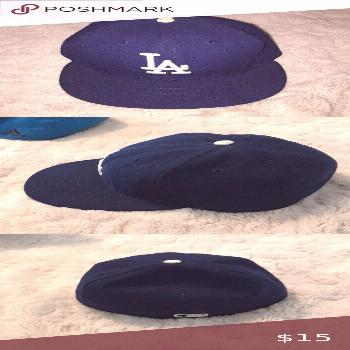 Los Angeles Dodgers Baseball cap/hat Comfy hat Barely worn New Era Other