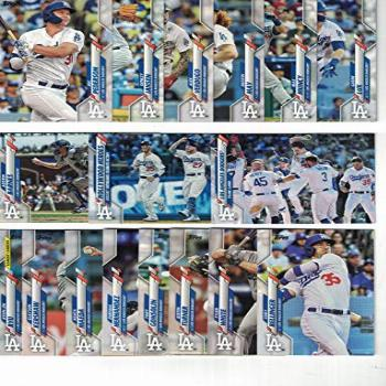 Los Angeles Dodgers/Complete 2020 Topps Dodgers Baseball