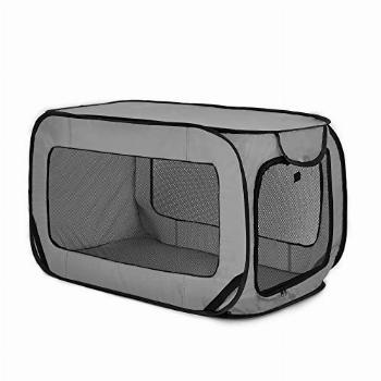 Love's cabin 36in Portable Large Dog Bed - Pop Up Dog