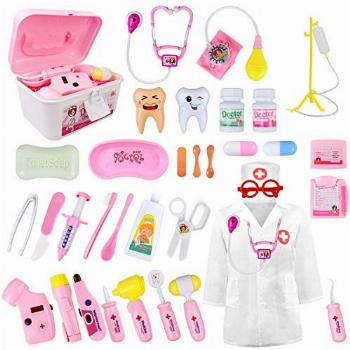 LOYO Medical Kit for Kids - 35 Pieces Doctor Pretend Play