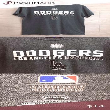 Men's LA Dodgers Baseball Short Sleeve T-Shirt Men's LA Dodgers Baseball T-Shirt   Size M Shirts Te