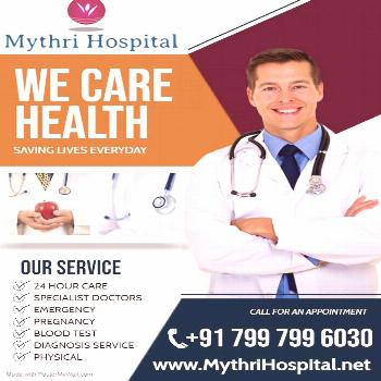Mythri Hospital Is A Trusted In City Which Excellent & Special For Your Issues With Proper & With 2
