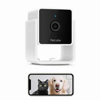 [New 2020] Petcube Cam Pet Monitoring Camera with Built-in