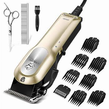 OMORC Dog Grooming Kit, Professional High Power Dog Clippers