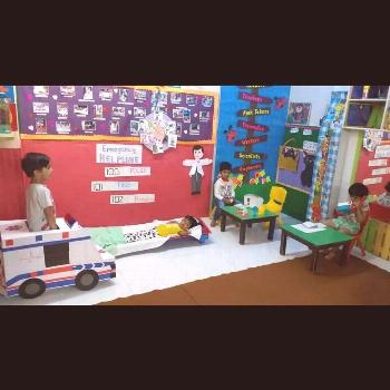 Our learnt about doctors and hospitals in this fun activity. They not...#activity