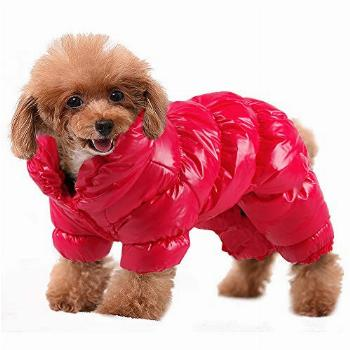 PET ARTIST Winter Puppy Dog Coats for Small Dogs,Cute Warm