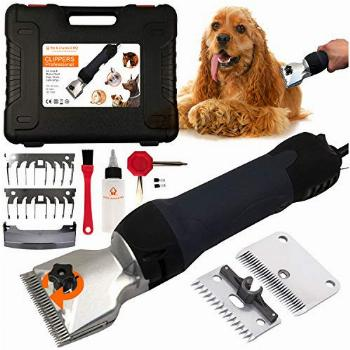 Pet & Livestock HQ 380W Professional Dog Grooming Clippers