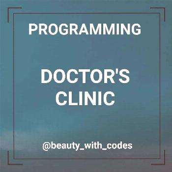 possible text that says PROGRAMMING DOCTORS CLINICYou can find Software development and more on our
