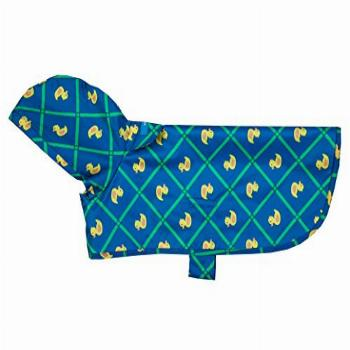 RC Pet Products Packable Dog Rain Poncho, Rubber Ducky,