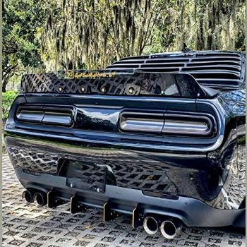 Rear Diffuser Kit V1 Compatible with Dodge Challenger